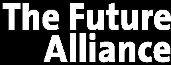 The Future Alliance logo white